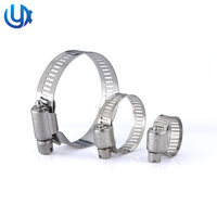 Tianjin YuDa American Type Stainless Steel Auto Tube Pipe Hose Clamp