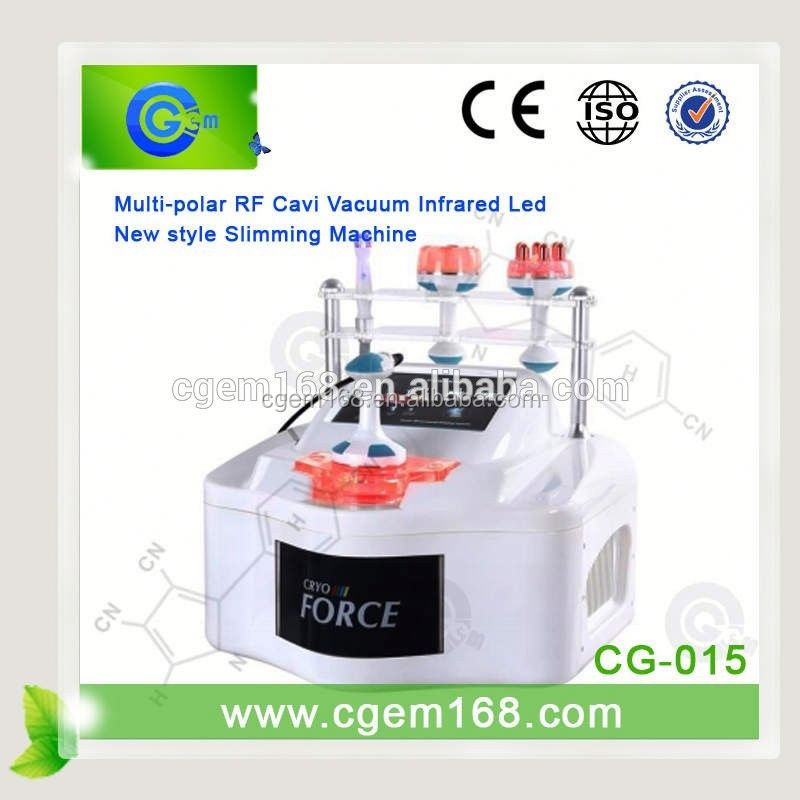 CG-015 New arrival!!! New Products for 2016 / fast safe weight loss / cavitation rf machine