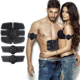EMS Electronic AB Abdominal Muscle Belt Stimulation Toning Massager with Massage Belt