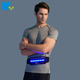 LED Reflective Running Waist Belt Pouch with USB Rechargeable Light