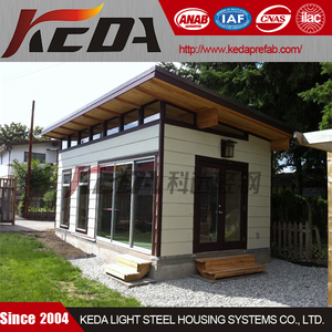 Customized Studio Style Mobile Steel Frame Villa Kit Home
