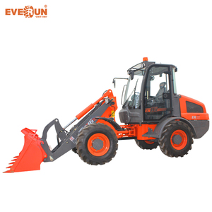 EVERUN brand ER08 mini wheel loader with EPA engine