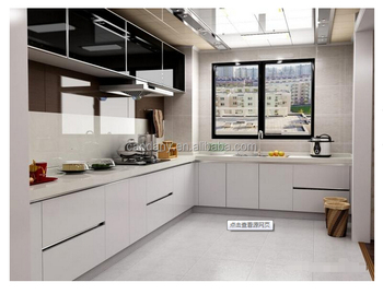 Modern Kitchen White Gloss Lacquered photo - 5