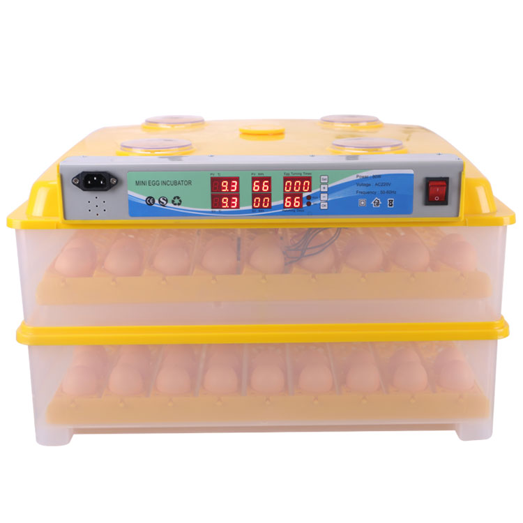 JF-196 Poultry hatcher machine 196 mini egg incubator for hatching 196 chicken eggs