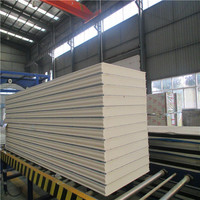 heat insulated pu composite wall panel for pu panel cold room