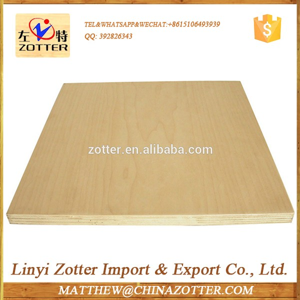 Low Cost High Quality 18Mm Red Oak Plywood Ash Fancy Plywood Red Oak Veneer Plywood