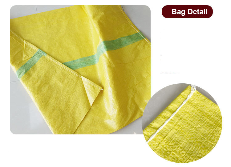 Feed use and pp woven type FAO crop seed plastic food packaging bag