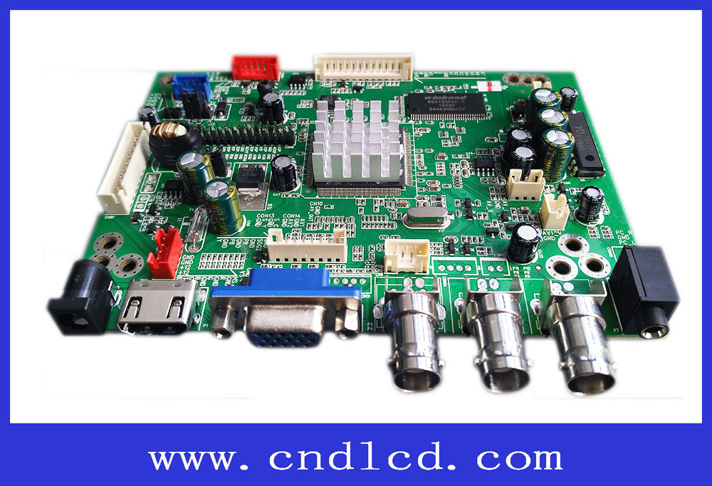 Lcd Controller Board Hdmi To Lvds Converter Controller Board For Projector  - Buy Lvds To Hdmi Mother Board,Support 1080p 3d Video,Color Lcd Product on