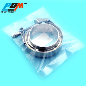 PDM 3'' Stainless Steel Quick Release V-band Clamps With MF Flanges In PDM