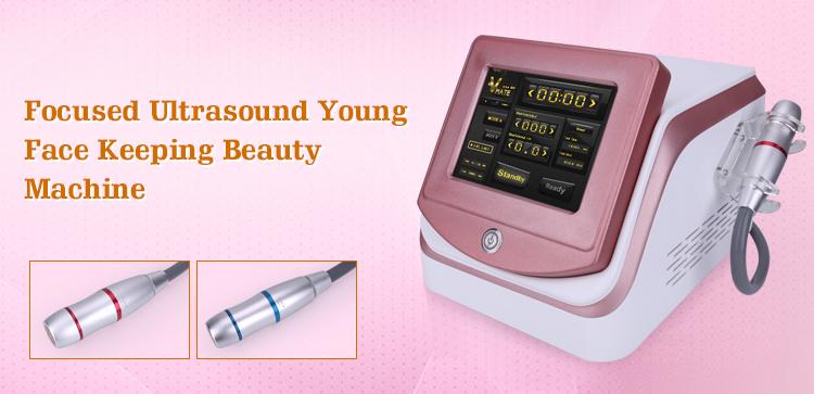 Hi Fu High Intensity Focused Ultrasound Face Lifting Beauty Machine