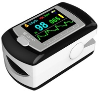 CE and FDA approved OLED screen portable handheld finger clip pulse oximeter for people with diabetes blood oxygen (SW 50E)