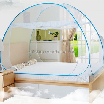 K Baby Mosquito Net Canopy Bed Folded Double