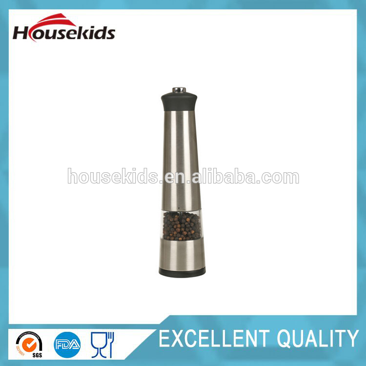 Professional acrylic pepper mill salt and pepper mill with CE certificate