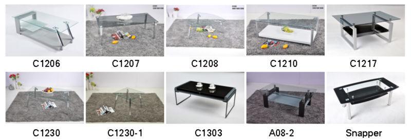Modern Design Fiber Glass Tea Table Living Room Center