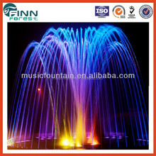 Guangzhou factory supply small/middle/big size musical water fountain garden waterfall design of water fountain