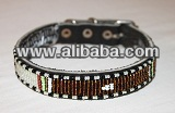 MAASAI BEADED MUILT DOG COLLAR- KENYA