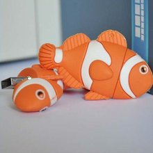 32GB Orange Clownfish USB2.0 Flash Memory Stick Pen