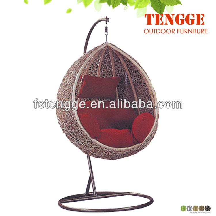 Nice Egg Swing Chair Outdoor Rattan Round Hammock