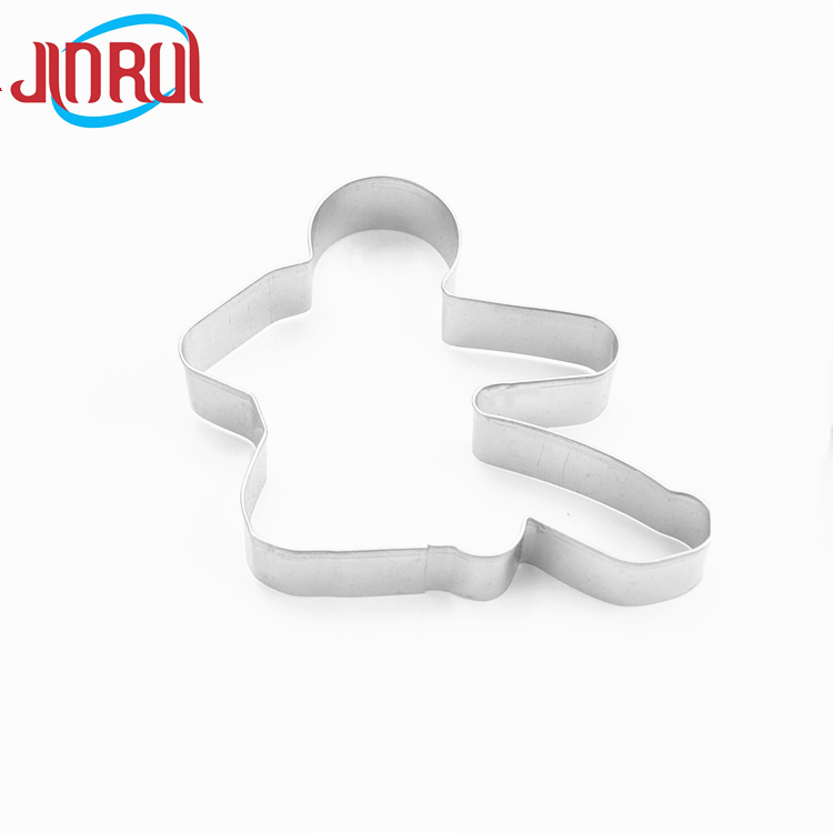 Stainless Steel Athlete shape Metal Cookie logo Cutter Set Cake Cookie Mold