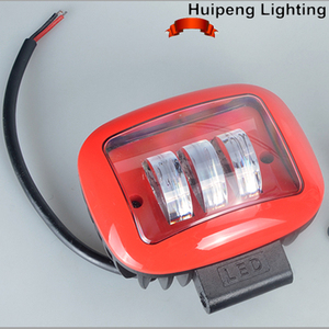 12V 24V Square 4x4 offroad Led Lights 30w