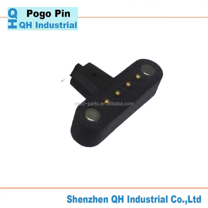 Famous Brand QH Industrial For High Class Precision Magnetic 2 Pin To 6 Pin Auto Connector Or Magnetic Pogo Pin Connectors