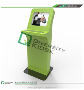 10 inch wall mounted interactive kiosk custom vending kiosk open frame ticket vending information kiosk