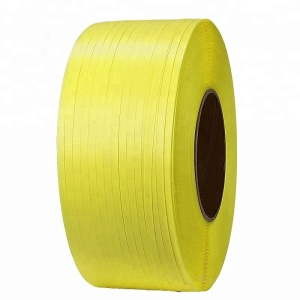 Machine use plastic pp strap with different colors, 12 mm or 15 mm width