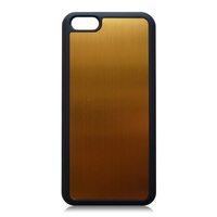 Aluminum plate + PC Back Cover Case For iphone5/5s/se, aluminum covered case