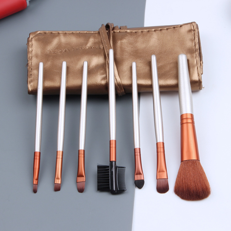 Powder Foundation Eyeshadow Eyeliner Lip Contour Concealer Smudge Brush Tool Makeup Brushes Set