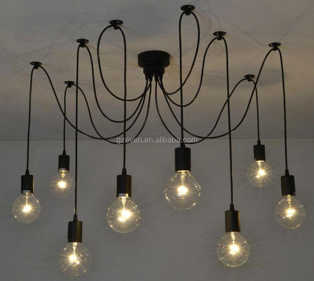 Vintage lampade a sospensione loft retrò edison lampadine ...