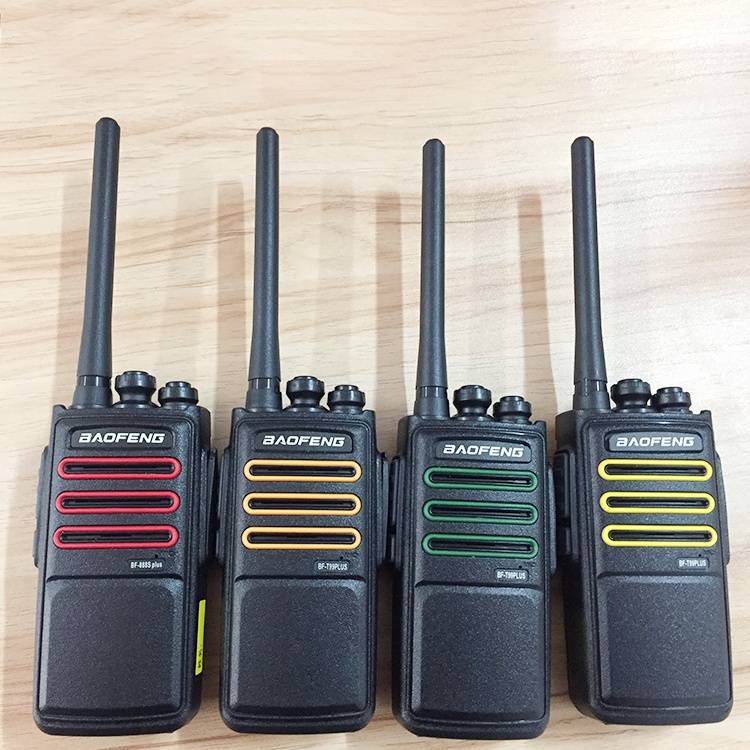 Cor agradável T99plus 5 W UHF walkie talkie intercom rádio 2way