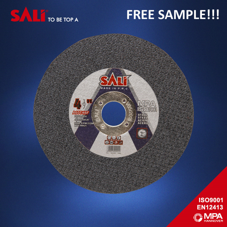 Reinforced Cutting Wheel for Metal SALI cutting wheel for steel 4 inch cutting disc