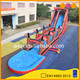 3 in 1 inflatable slip slide pirate theme inflatable water slides with pool for promotion