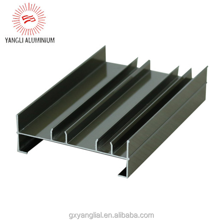Thermally insulated aluminum window profile