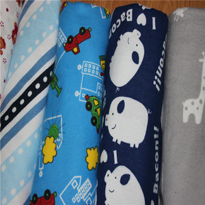 Cotton Fabric for Baby Dress Flannel