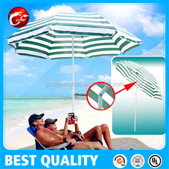 Hawaii Zweefparasol 350.Patio Garden Hawaii Beach Sun Umbrella Sunshade Folding Tilting