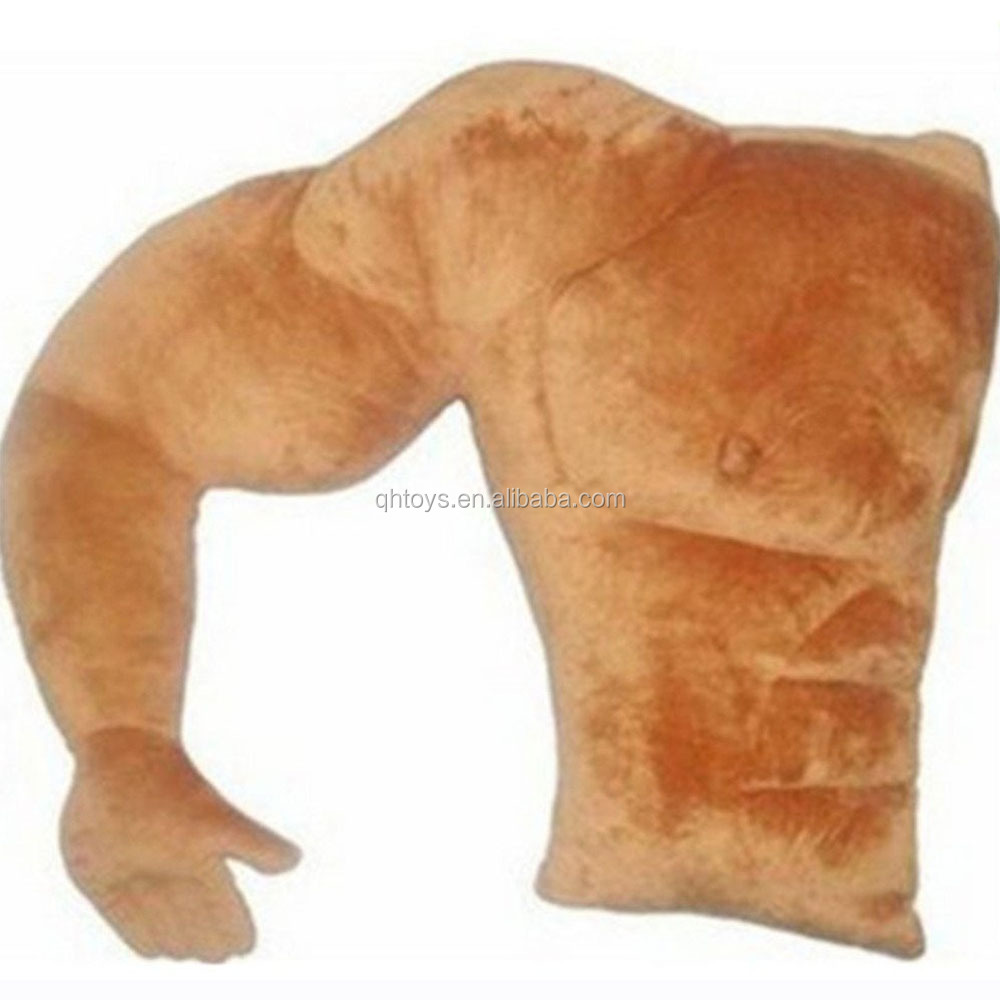 Boyfriend Muscle Man Body Arm Plush Cotton Sleep Pillow