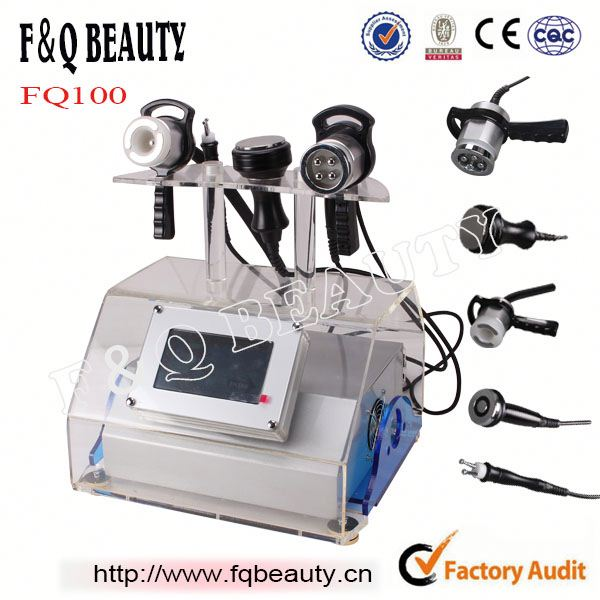 5 in 1 Cavitation body slimming RF Face Beauty BIO vacuum suction anti cellulite(with CE)
