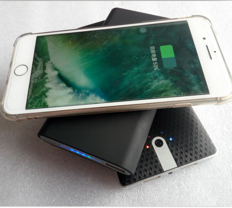 New model wireless power bank with 10000mAh capacity in wholesale
