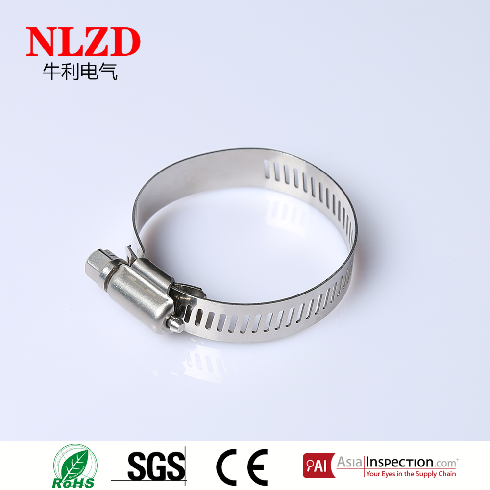 Stainless Steel 304 316 Hose Clamp Waterpipe Clamp Metal pipe clamp