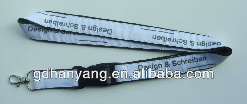 custom double layer lanyards no minimum order