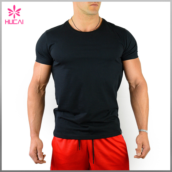 High Quality Men Fitness Apparel Customized Muscle Men Compression Workout Shirt
