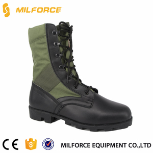 MILFORCE-China factory price Kenya green army military boots