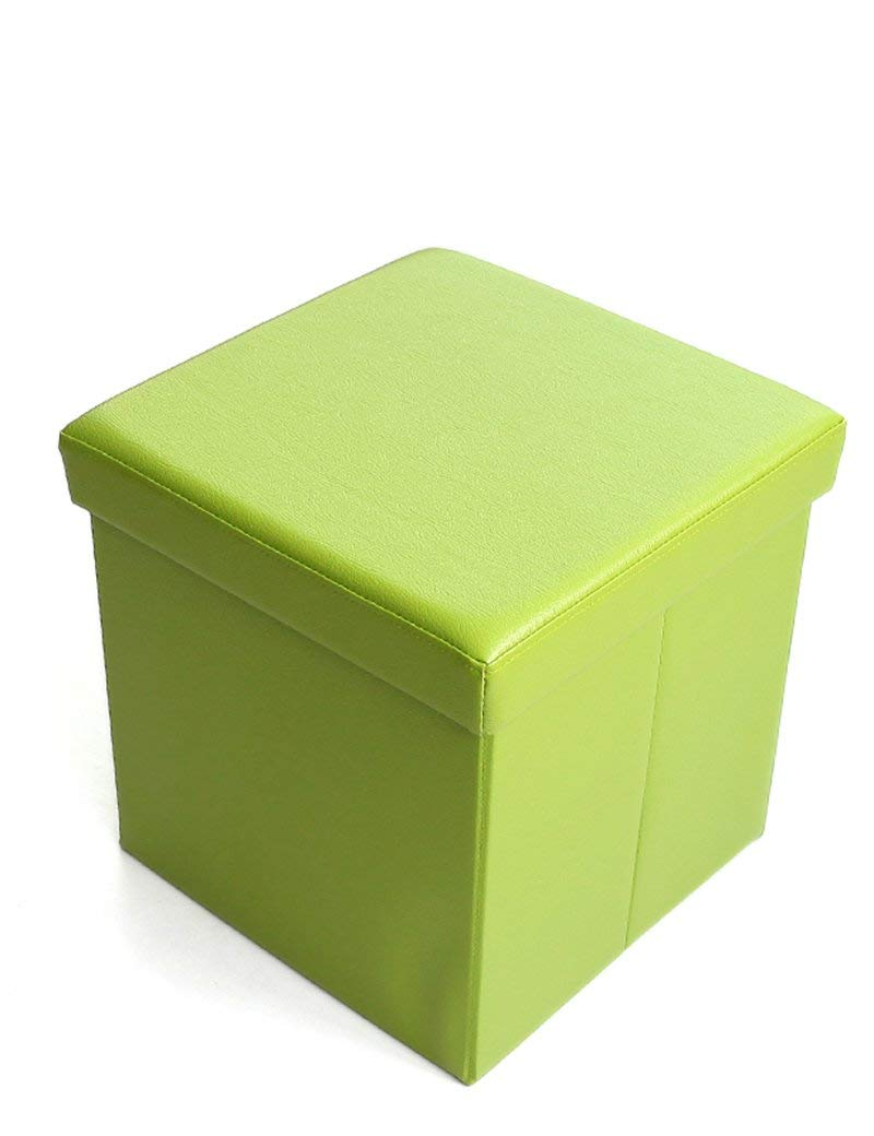 Barstools ZHANGRONG- Multi-functional Stool Storage Stool Sofa Stool Folding Stool Square For Shoes Stool Sofa Stool (Color Optional) (Color : B)