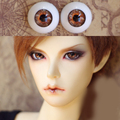 brown Orange gold Bjd Eyes for BJD Dolls toys eyeball for 1 3 1 4 1