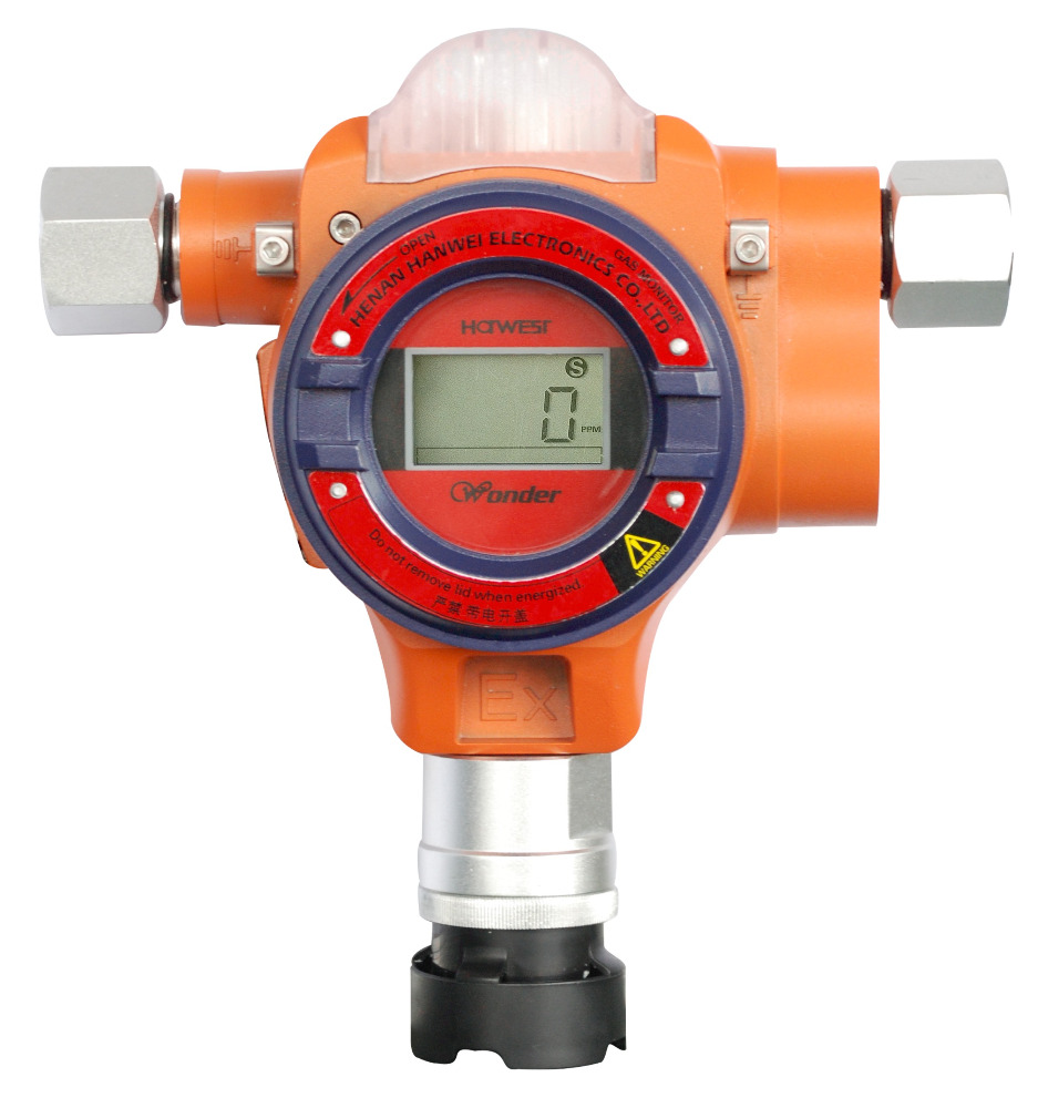WD2200 Fixed Gas Monitor for industrial using Fixed gas detector
