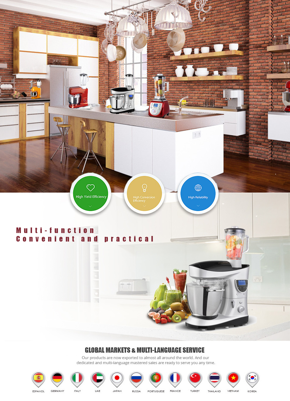 Dongguan Grand Plan Mold Industry Co., Ltd. - Stand mixer,Soup maker