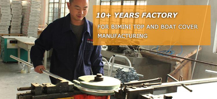 10+years factory 4 Bow bimini top canopy aluminum bimini tops with BSCI & SGS