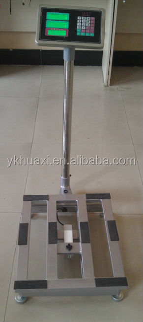 digital scale mining equipment platform weight/price scale Yongkang City Huaxi Scale Factory