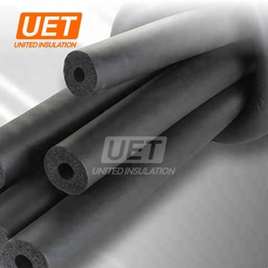 pvc /nbr rubber plastic insulation pipe foam tubes material for tube 1'' neoprene nitrile closed cell tubing